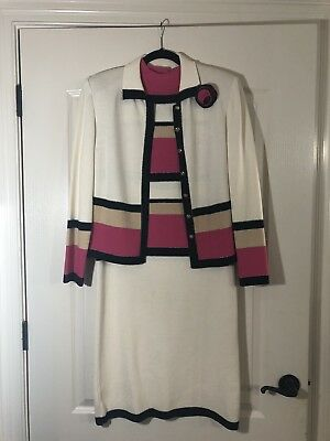 ST JOHN COLLECTION BY MARIE GRAY DRESS JACKET KNIT SIZE 10 New