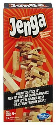 Classic Jenga Game from Hasbro Stacking Wooden Block Game New