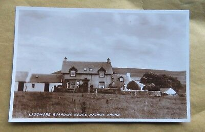 LAGGMORE BOARDING HOUSE, MACHRIE, ISLE of ARRAN c 1935