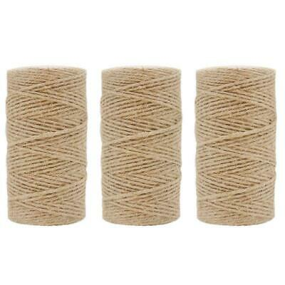 STRING IN A Tin - Natural Jute Twine - Kingfisher Brand BNIB