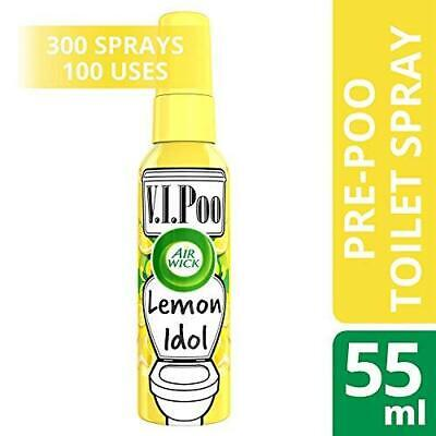 Air Wick VIPoo 55ml Spray Rosy Starlet Lemon Idol Lavender Superstar Fruity Pin