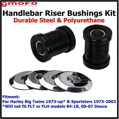 Motorcycle Handlebar Riser Bushings Kit For Harley Sportster XL 883 1200 1973-03