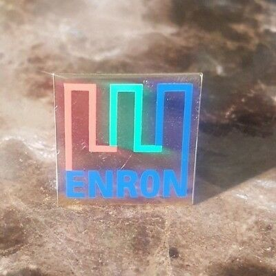 Gold 2000 ENRON Lapel Pin - Own a piece of history