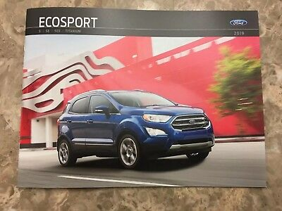 2019 FORD ECOSPORT 28-page Original Sales Brochure