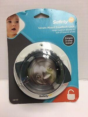 NEW Secure Deadbolt Lock,No HS162,  Safety 1st/Dorel - Childproof Child Proof
