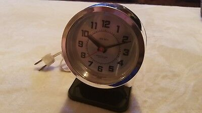 WESTCLOX BIG Olympique BEN WIND UP ALARM CLOCK VINTAGE Canada Works