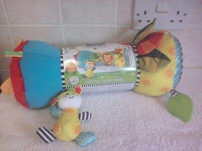 Mothercare Baby Safari Tummy Time Roller New