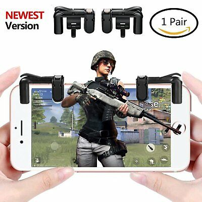 Mobile Game Controller PUBG, Sensitive Shoot and Aim Buttons