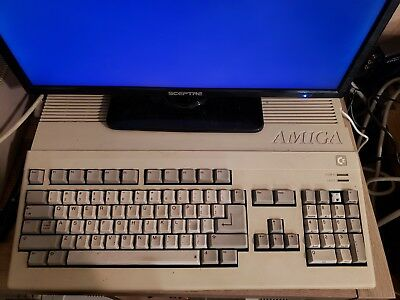 Amiga 500 Computer - Working - Comes with New Square Power Connector Plug