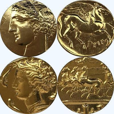 Tanit/Persephone, 2 of the Most Beautiful Greek Coins Percy Jackson Fans (13+17G