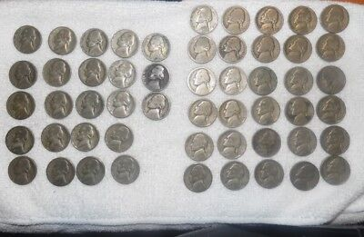 Collectors - War Nickel Coin Lot