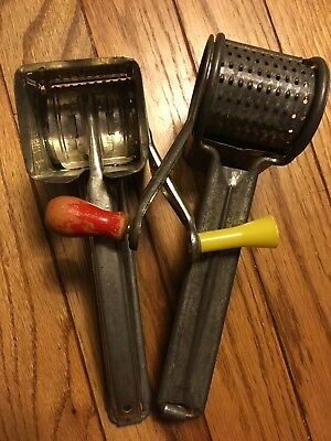 Lot Of two-2 mouli grater-made in france-vintage French Graters