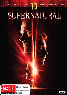 Supernatural : Season 13 (DVD, 5-Disc Set) NEW