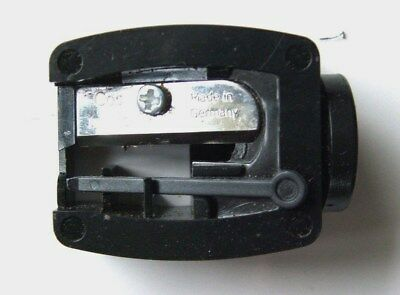 Sei Bella cosmetic makeup black lip pencil sharpener NEW 12 mm Made in Germany