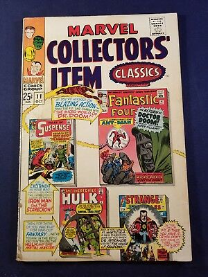 Marvel Collectors Item Classics #11 3.0 J. Kirby/steve Ditko No Reserve Auction