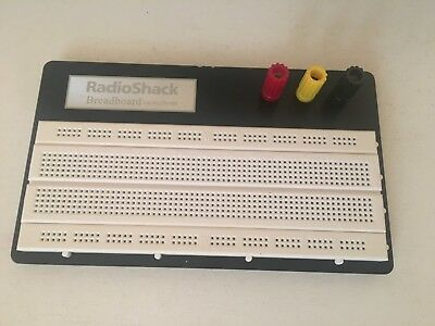 RadioShack Universal Solderless Breadboard Part No. 276-169A. PLUS Accessories