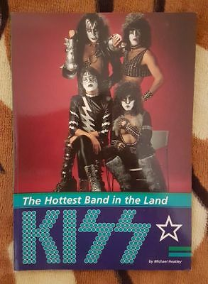 KISS THE HOTTEST BAND IN THE LAND / by Michael Heatley / UFO Music LTD / 1997