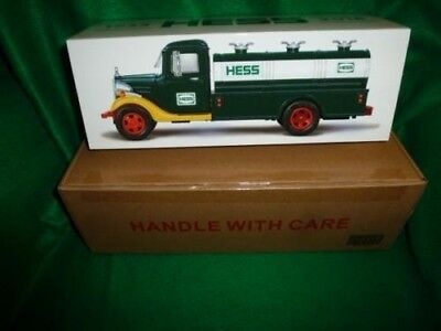 2018 HESS TRUCK 85th Anniversary Collectors Edition- sealed in original box