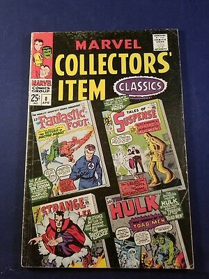 Marvel Collectors' Item Classic's #8, Jack Kirby, Steve Ditko, 1967 Vg-  No Res