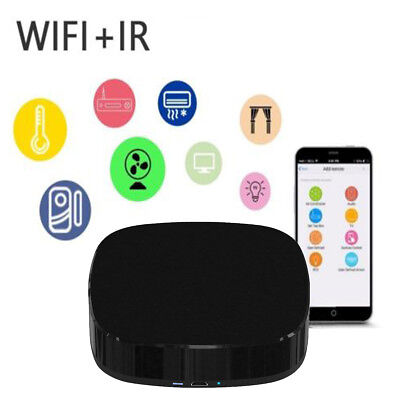 Smart Home Universal IR Infrared Controller WIFI Remote Control Wireless Switch