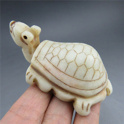 Chinese jade, collection, Hongshan culture,natural jade, turtle, pendant H5