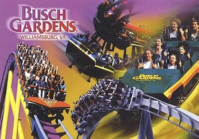 Busch Gardens Williamsburg Tickets Promo Discount Tool Savings $43 + Unlimited!