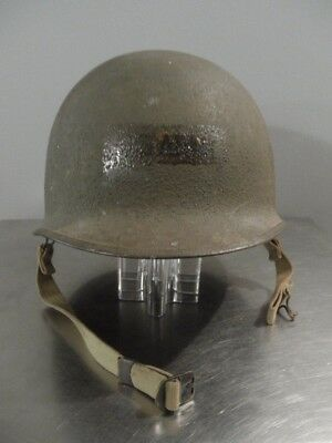 WW2 Era US Army Steel Helmet & Liner