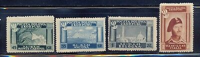 Poland - Second Polish Corps in Italy stamps. MLH