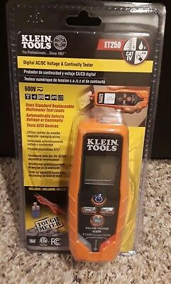 Klein Tools AC/DC Voltage/Continuity Tester  ET250 NEW