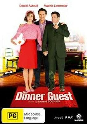 The Dinner Guest NEW PAL Cult DVD Daniel Auteuil France