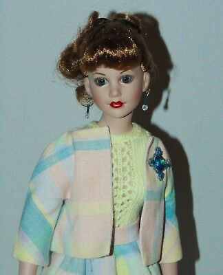 KITTY COLLIER  Doll OOAK OUTFIT Pastel Plaid SKIRT SET