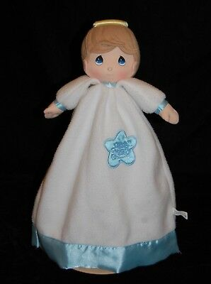 Precious Moments Angel Boy Security Blanket Luv n' Care Lovey Plush#15
