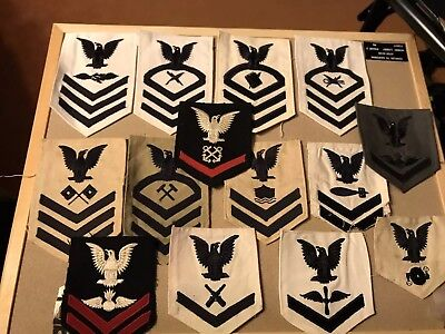 Ww2 Navy Patches Lot
