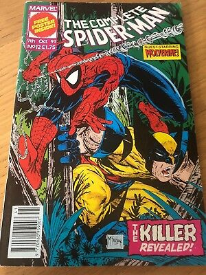 The Complete Spiderman issue # No 12 comic Oct 1991 Marvel