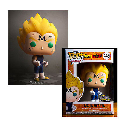 POP! Animation - Dragon Ball Z Majin Vegeta #445 (Over9000.com Exclusive) S Toy