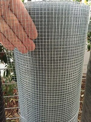 SNAKE / RODENT / MOUSE / VERMIN WIRE MESH - 120cmx6x6x0.6mm - 30m roll weld mesh