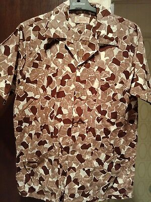 VINTAGE, MEN'S 50s SHIRT- ROCKABILLY - SIZE M/L 50s PRINT