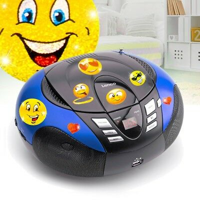 Kinder Zimmer CD-Player USB MP3 Musik Stereo Anlage UKW MW Radio Living-XXL