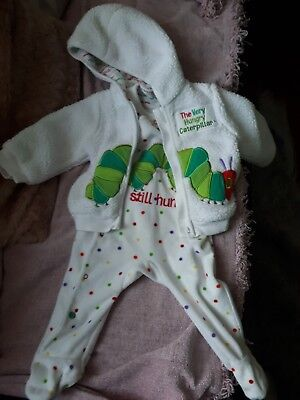 Hungry caterpillar outfits 3-6 months