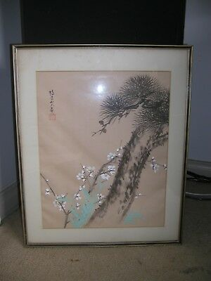 Japanese Water Colour Painting