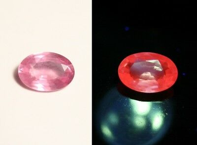 AAA Mahenge Hot Pink Spinel 1.19ct – Rare Fluorescent Pink – Oval Cut