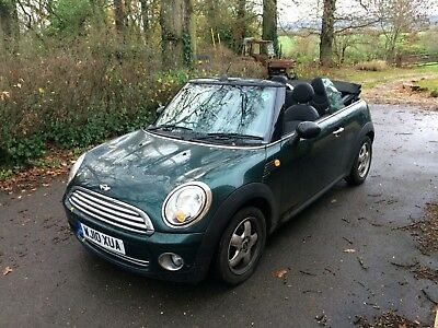 mini cooper convertible 2010 great condition FSH 1 owner low mileage