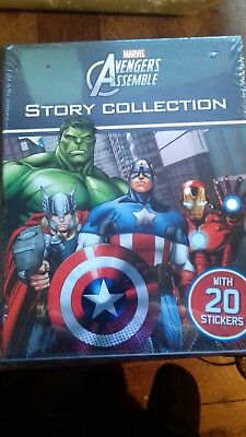 Marvel Avengers Assemble Story Collection 4 books set pack NEW