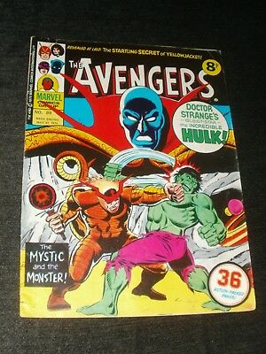 MARVEL COMIC THE AVENGERS ISSUE 89 31st MAY 1975