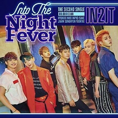 [IN2IT] ALBUM Into The Night Fever [Club Ver.] CD+Poster+PhotoBook+M.Book+Card