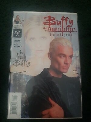 Buffy The Vampire Slayer: Lost And Found Signed With A Certificate 97/1500