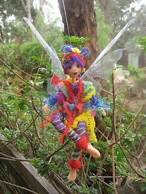 Magical Party Elf Rainbow - Hand made By Conny