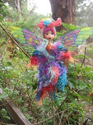 Magical Party Elf (PurpleRed) - Hand made By Conny