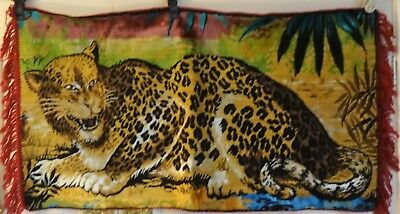 Vintage Leopard wall tapestry