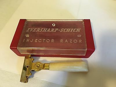 Clean Vintage Type G 1946-1955 Eversharp Schick Injector Safety Razor